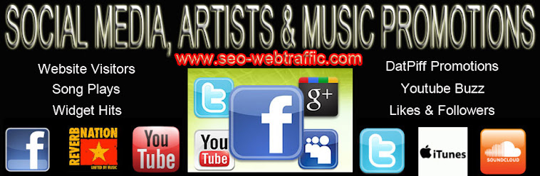 Social Media Marketing | SEO | Buy website Traffic | Facebook Fans | Twitter Followers | Youtube Views