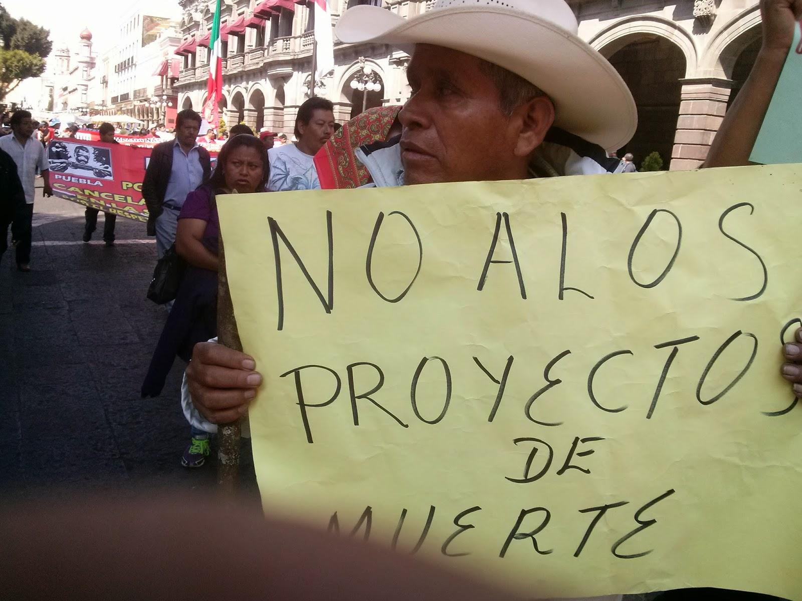 Piden a diputados de Oaxaca rechazar mina
