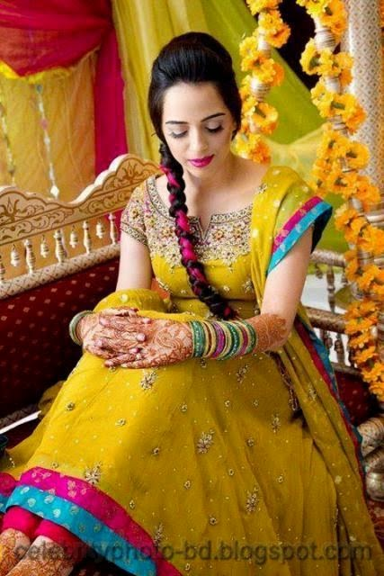 Pakistani+Wedding+Hairstyles+For+Bride+Girls+Photos+2014009