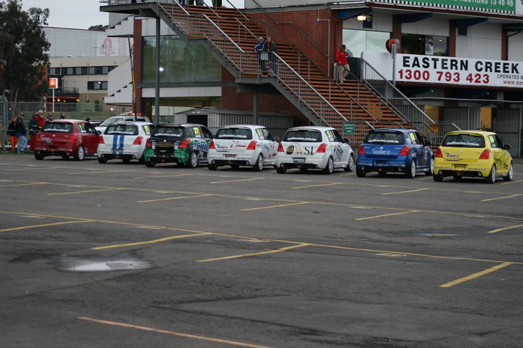 Australian Swift Racing Series, wyścigi, japońska motoryzacja