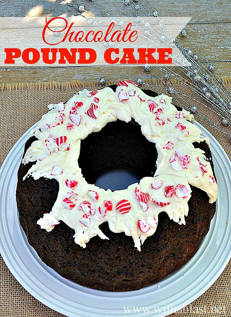 Chocolate Pound Cake ~ Super moist Chocolate Pound Cake with a to-die ...