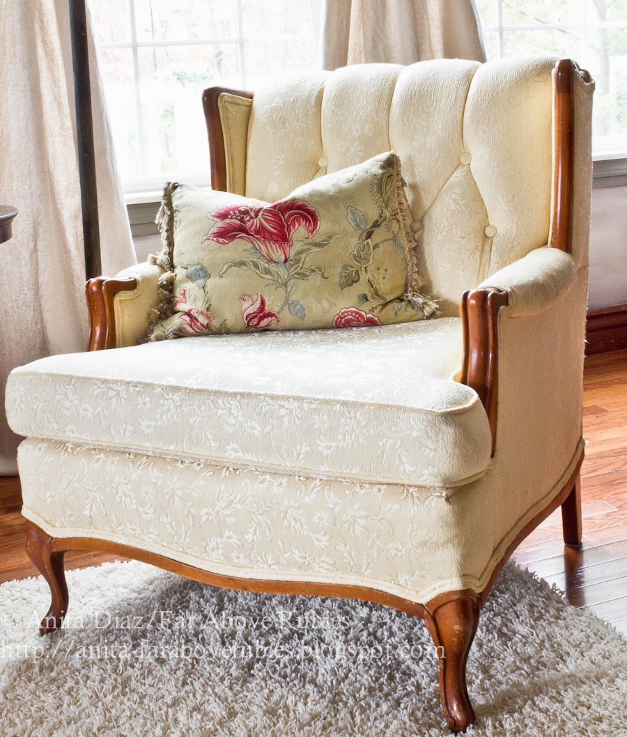 This French Provincial Style Chair Was $40 On Craigslist, And I Couldnu0027t  Pass It Up...especially In Such Great Condition And Considering How Well It  Goes ...