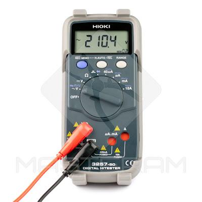 Сохранение измерений в память профессионального цифрового мультиметра HIOKI 3257-51
