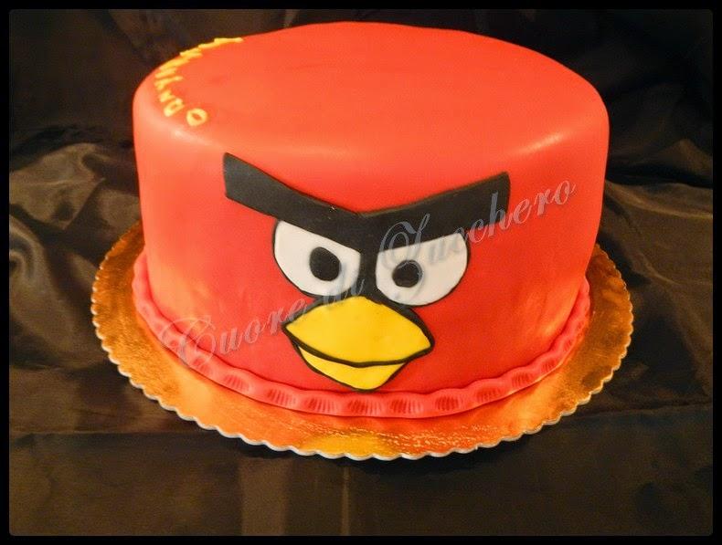 angry birds cake e biscotti