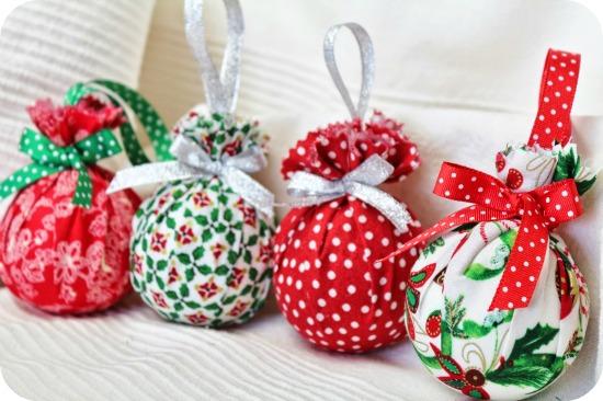 ni a bonita diy bolas de navidad para el arbol