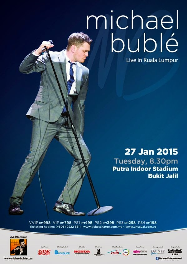 Michael Buble Poster 01