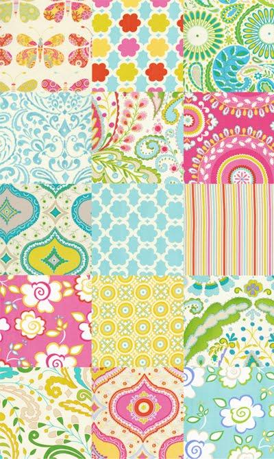 Print pattern fabrics dena designs for Dena designs kumari garden