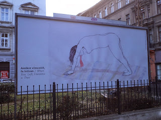 Barbara Guttman's  art-billboard