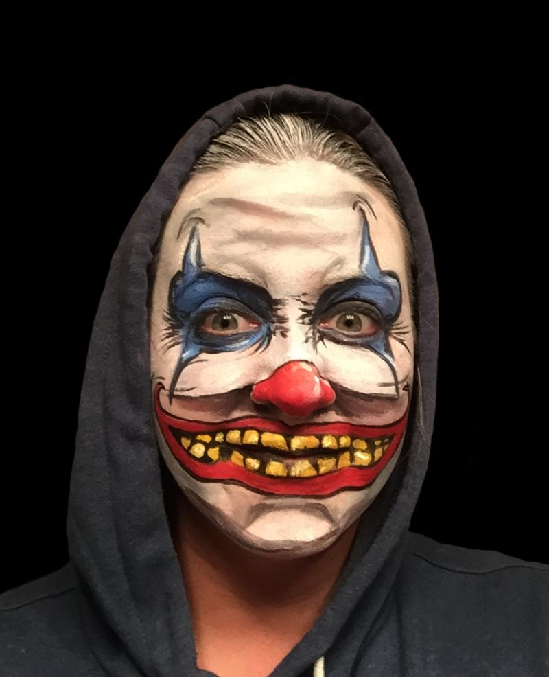 Kelly Gannon: Creepy Halloween Face Painting