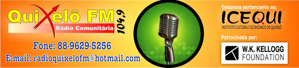 ))) Rádio Quixelô FM 104,9 Mhz (((