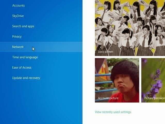 Cara Membuat Homegroup di Windows 8 Melalui PC Setting