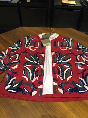 chaqueta étnica de uterque