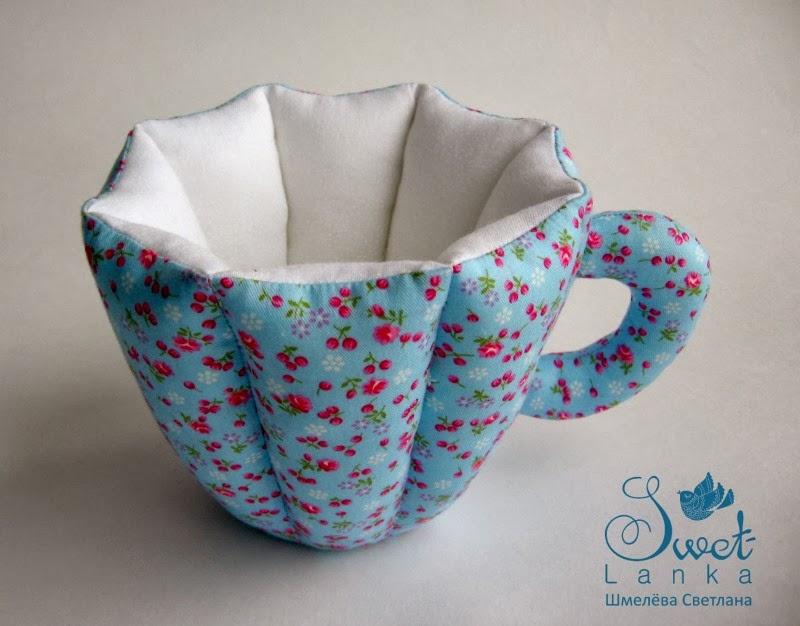 текстильная чашка
