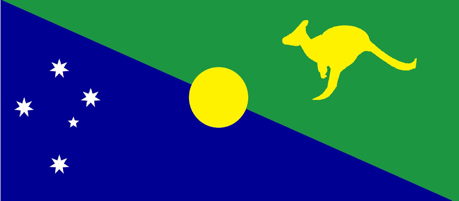 A new flag for Australia?: Inspiring from the Christmas Island flag?