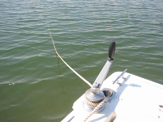 Manual Anchor Winch
