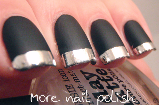 G Day Matte Black With Silver Tips