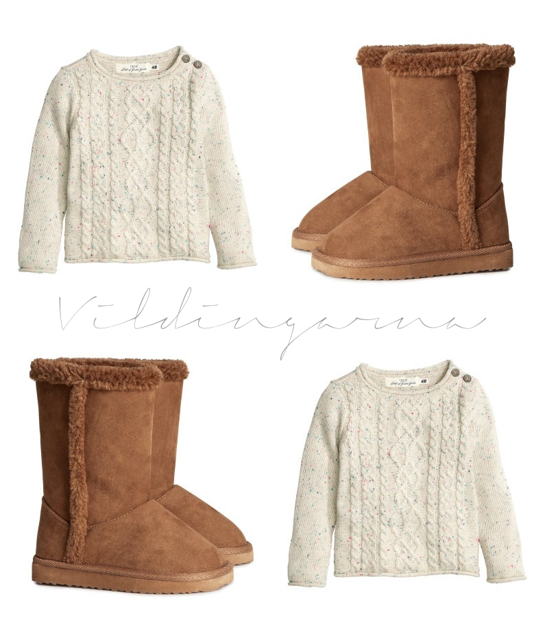H&M, Uggs, höst, kläder, barn