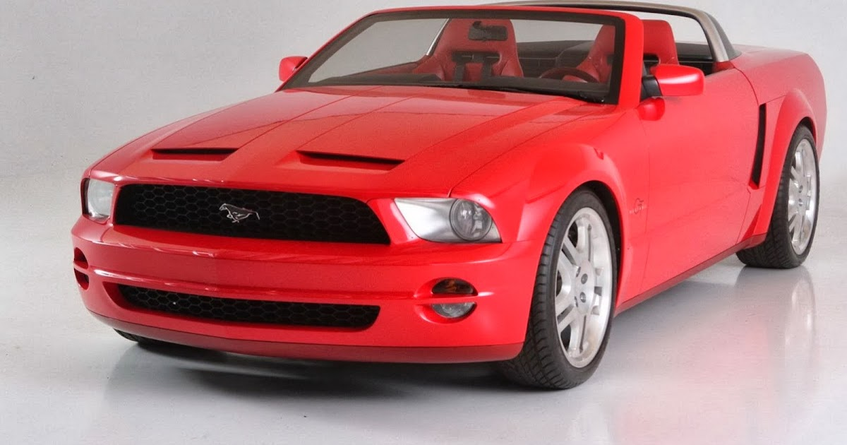 All Cars Nz 2003 Ford Mustang Concept Convertible