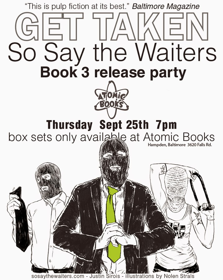 So Say The Waiters 3 Party