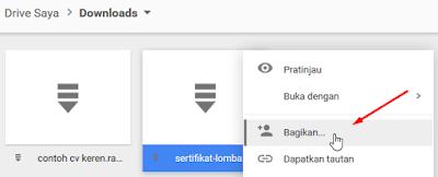 Cara Berbagi File Melalui Google Drive