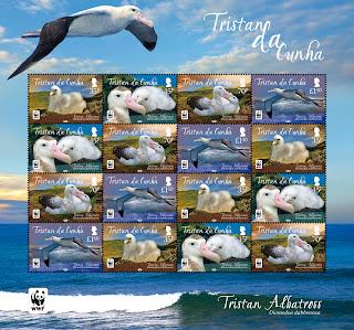 Tristan da Cunha: Albatross --- www.pobjoystamps.com
