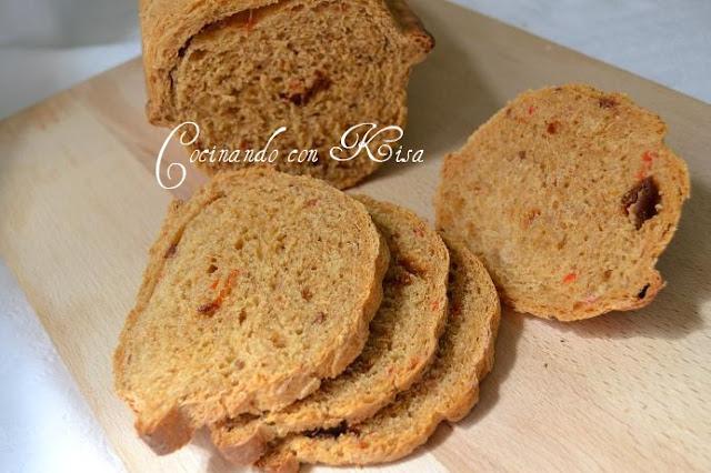 Cocinando con kisa pan de piment n dulce ahumado la for Pane con kitchenaid