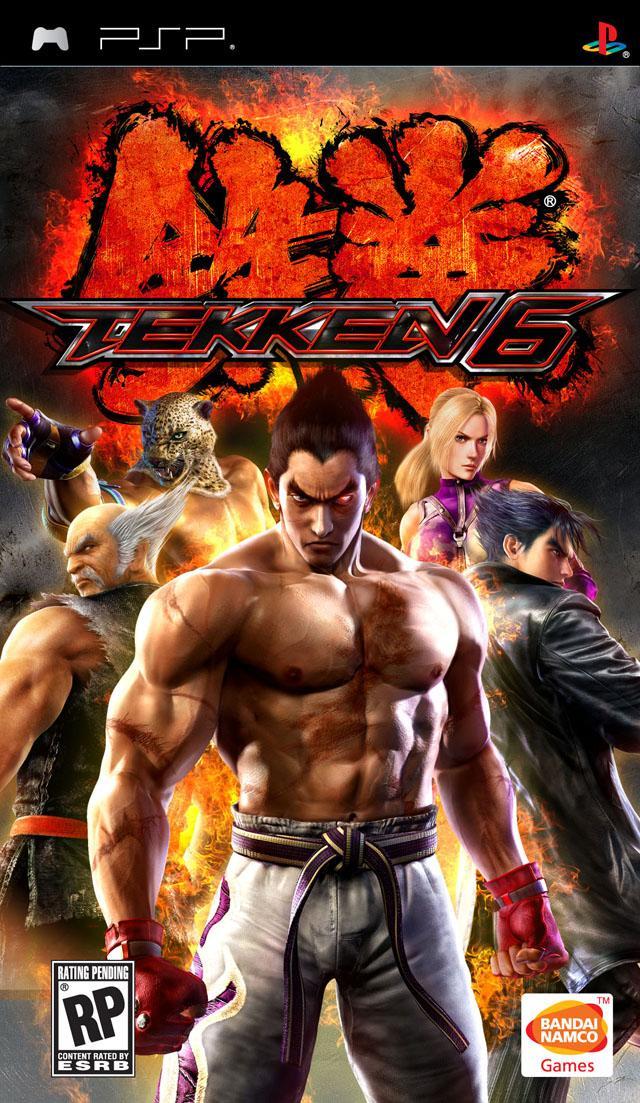 Free Download Tekken 6 PSP Game Cover Photo