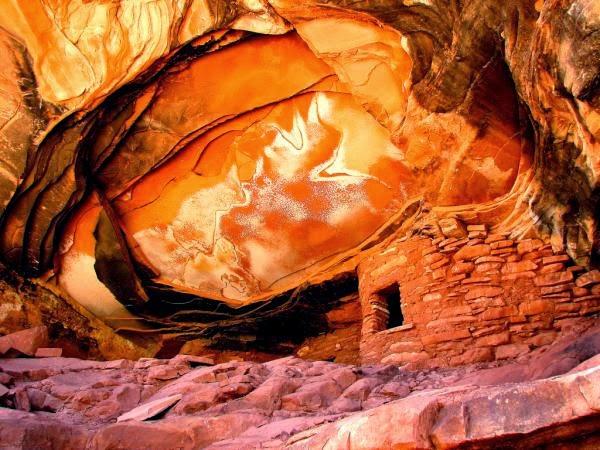 Cute Anasazi Ruins by Rick Schafer