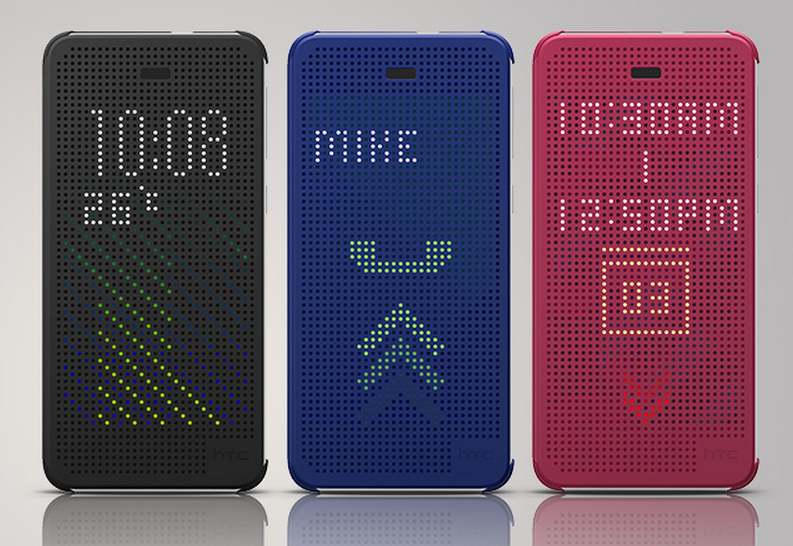 htc desire 626 dot view case