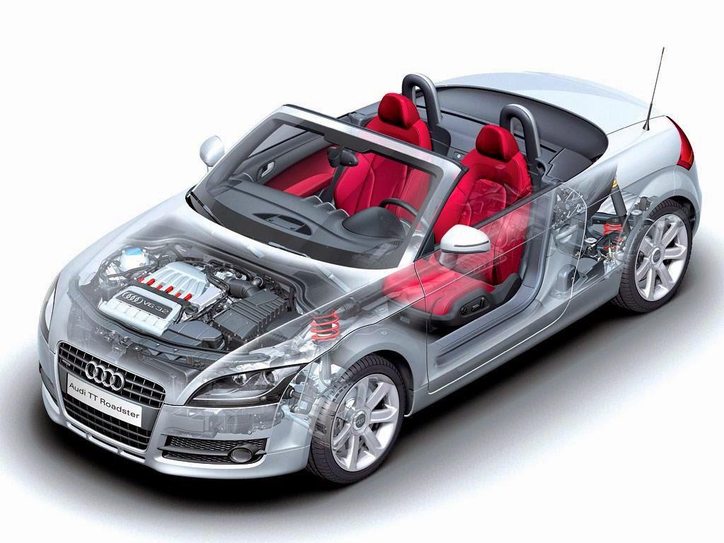 componentes reciclados para coches