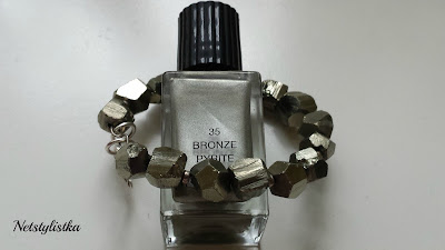 YSL  Yves Saint Laurent Bronze Pyrite La laque couture