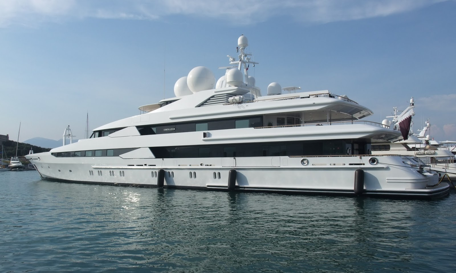 Superyacht CONSTELLATION Port Side