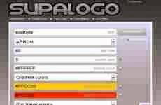 Supalogo: permite crear vistosos logos online en forma gratuita