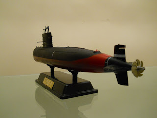 maqueta del submarino chino 039G1 clase Sung de bronco models escala 1/200