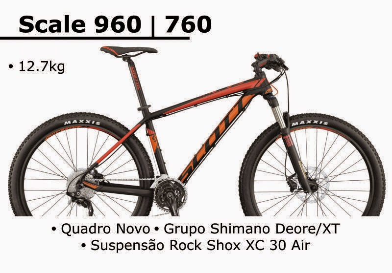 Bicicleta Scott Scale 760 2015