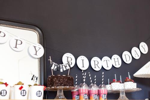 Sweet 18 Geburtstagstisch Und Geburtstagsgedanken Amalie
