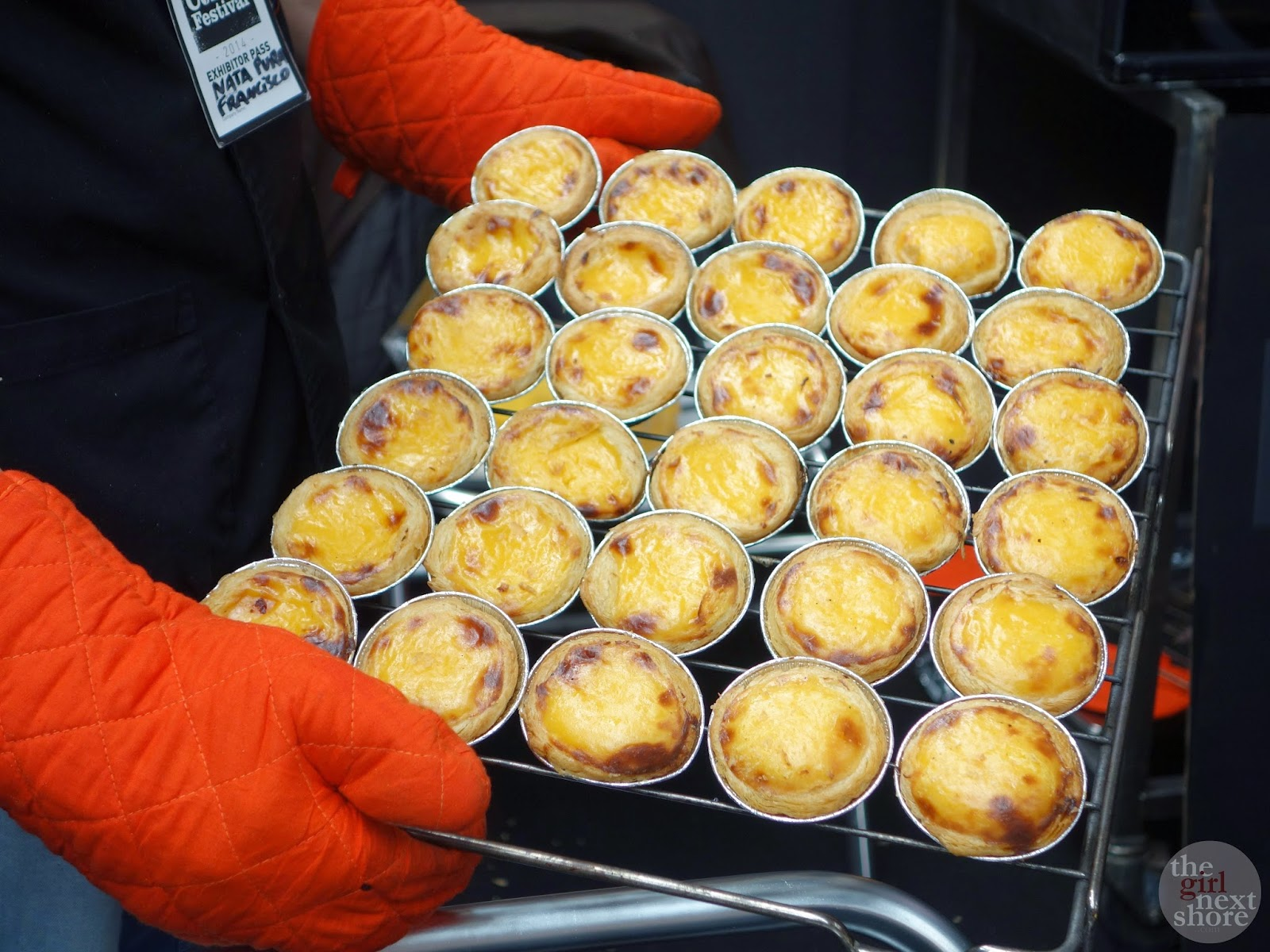 Pastel de Nata at the London Coffee Festival