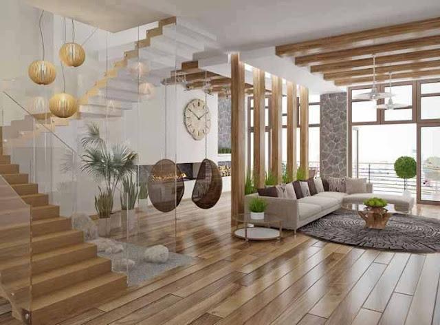 Construindo minha casa clean tipos de escadas decoradas for Interno j
