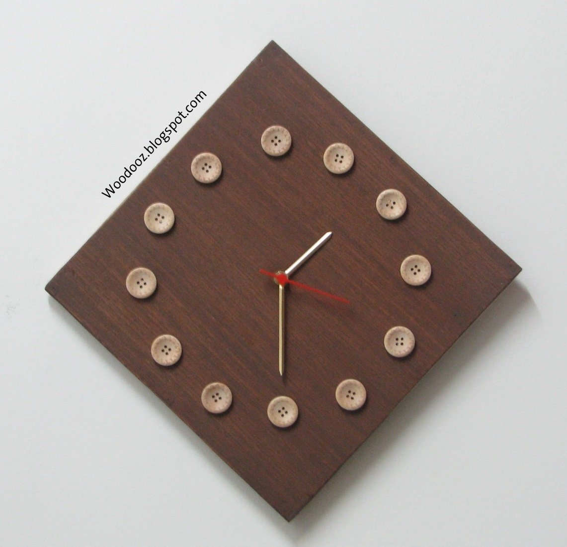 Wall Clock Design Template : Wall decor with diy clock indian woodworking