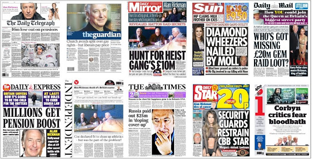 front pages 15-01-16