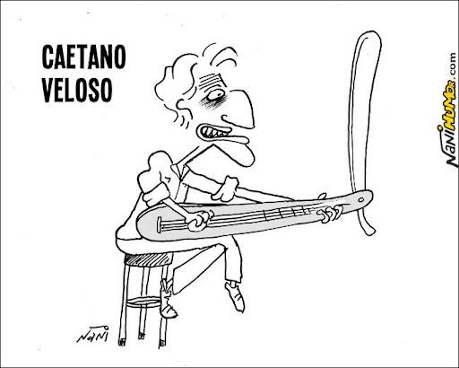 Caricaturas. caetano veloso