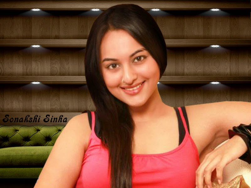 Bollywood Indian Actress Sonakshi Sinha Hot HD Picture