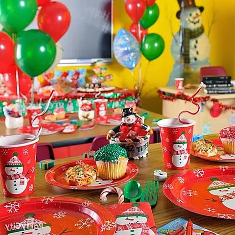 Christmas Table Decorations For Children To