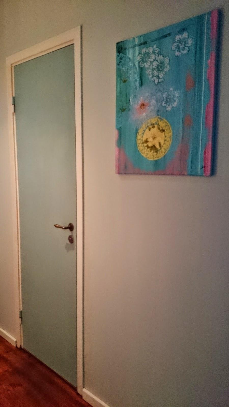 Skapande hem: chalk paint till dörrar