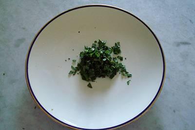 Pasta acciughe e pistacchi 2