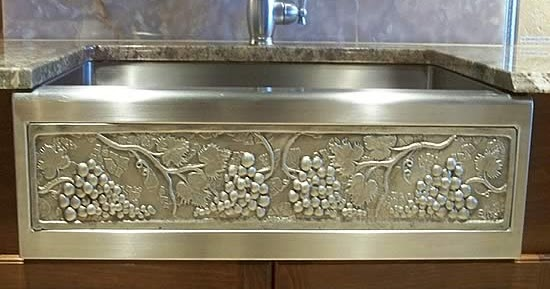 Hammered Copper Sinks Apron Front Copper Sinks