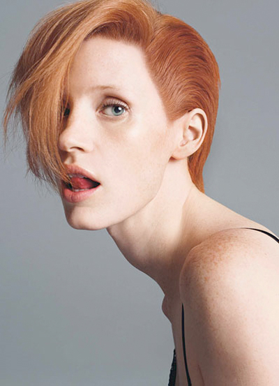 jessica chastain young
