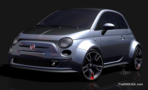 fiat 500 at sema 2010 fiat 500 usa. Black Bedroom Furniture Sets. Home Design Ideas