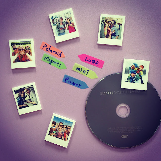 Polaroid Magnets for instagram