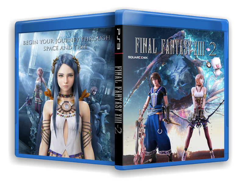 Capa Final Fantasy XIII 2 PS3